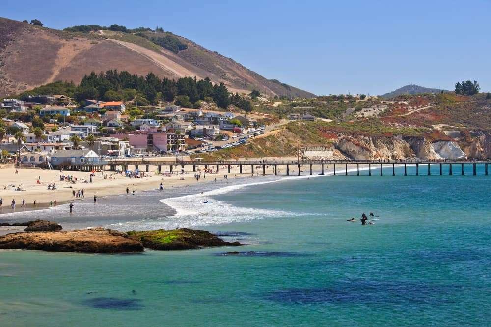 San Luis Obispo weather at the beach
