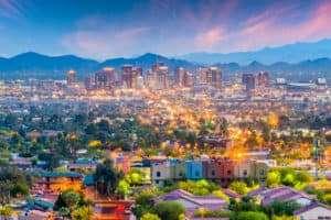 Skyline of Phoenix, AZ