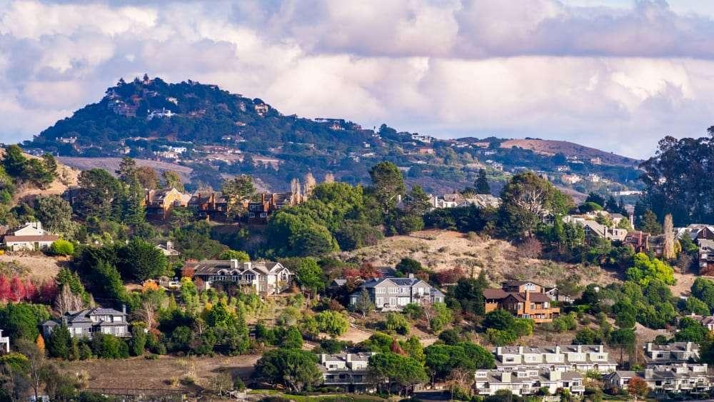 Neighborhood in Mill Valley, CA